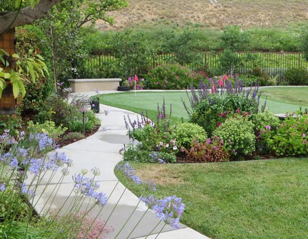 Southern california residential landscape design portfolio for Garden design portfolio